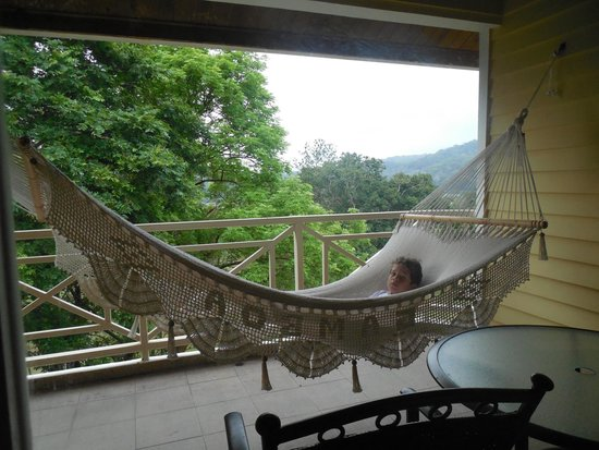 Gamboa Rainforest Resort: Serenity on balcony.