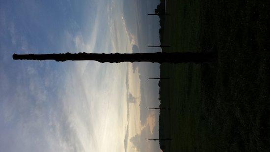 Cahokia Mounds State Historic Site: woodhenge