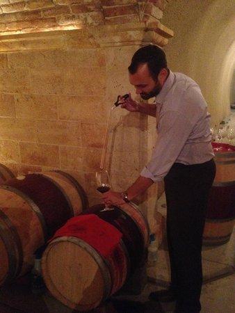 HALL Rutherford: Barrel tasting