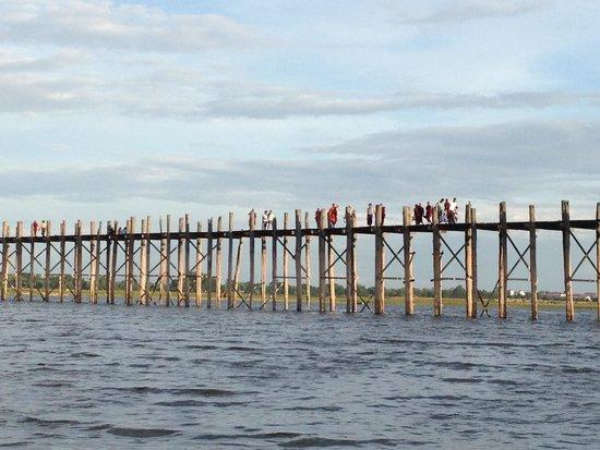 U Bein Bridge: Ponte espetacular