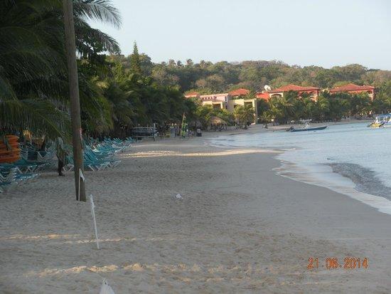 Henry Morgan Resort: Beach at Henry Morgan