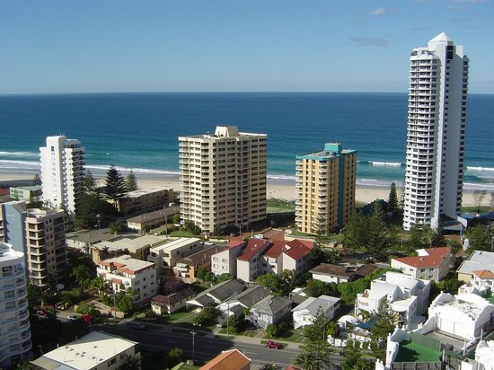 Crowne Plaza Surfers Paradise: Looking North-East, Surfers Paradise