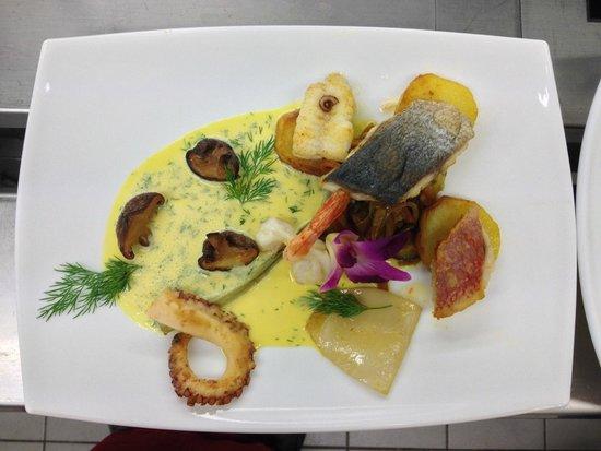Ochsen: misto di pesce