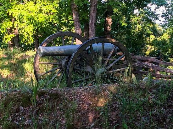 Kennesaw Mountain National Battlefield Park: Hidden Gun and Earthworks