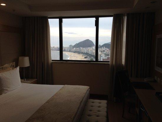 Hilton Rio de Janeiro Copacabana: Hotel Room