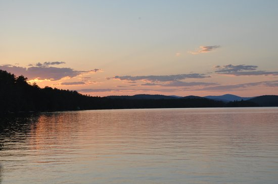 Highland Lake Resort: Beautiful sunsets