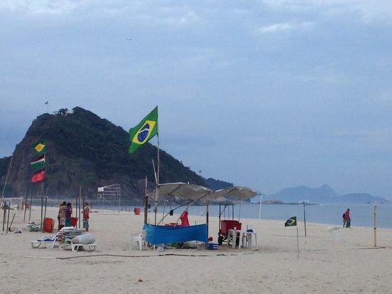 Hilton Rio de Janeiro Copacabana: Copacabana beach