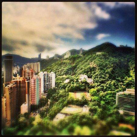 Conrad Hong Kong: View from room