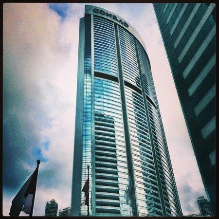 Conrad Hong Kong: Exterior of the Conrad hotel