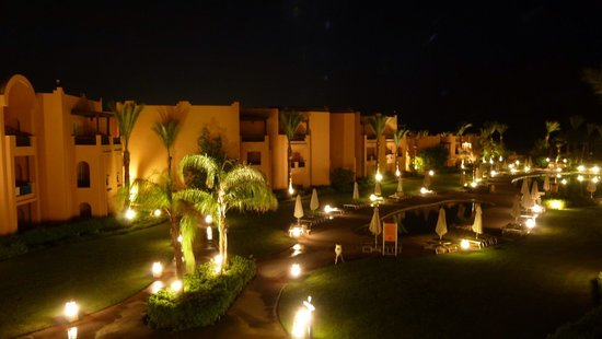 Stella Di Mare Beach Resort & Spa Makadi Bay: Night