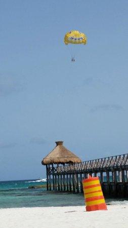 The Grand Mayan Riviera Maya: beach area