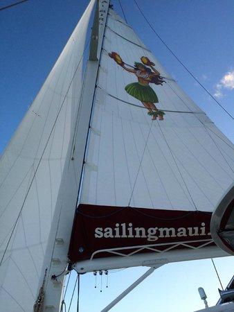 Hula Girl Excursions: Hula Girl sail