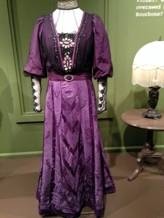 Winterthur Museum, Garden & Library: A dress worn by Violet, the lace was amazing!
