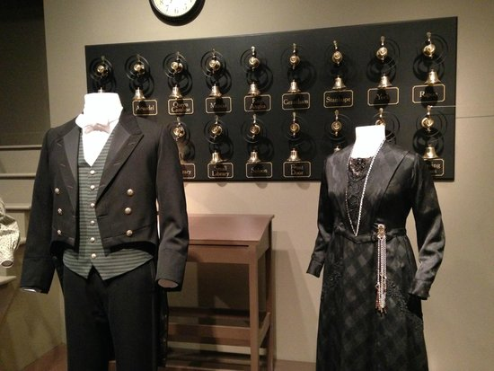 Winterthur Museum, Garden & Library: Mrs Hughes and the footmen outfits.