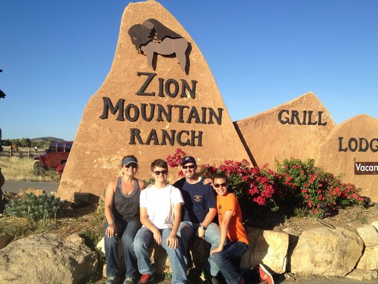 Zion Mountain Ranch : At the front