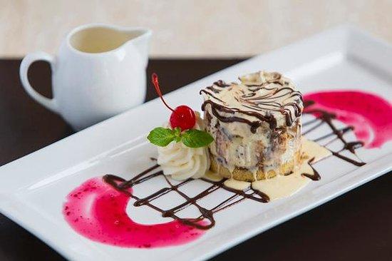 Wains Hotel Dunedin: Cheesecake