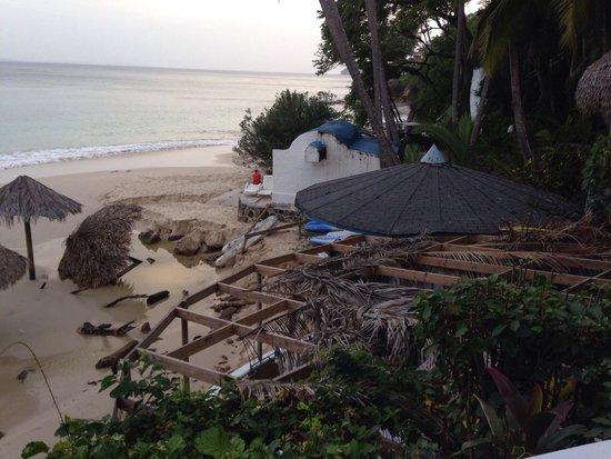 Mar & Oro: Descuido de las instalaciones