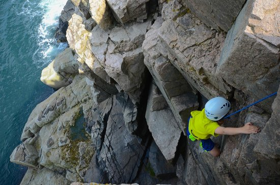 Atlantic Climbing School: Second climb