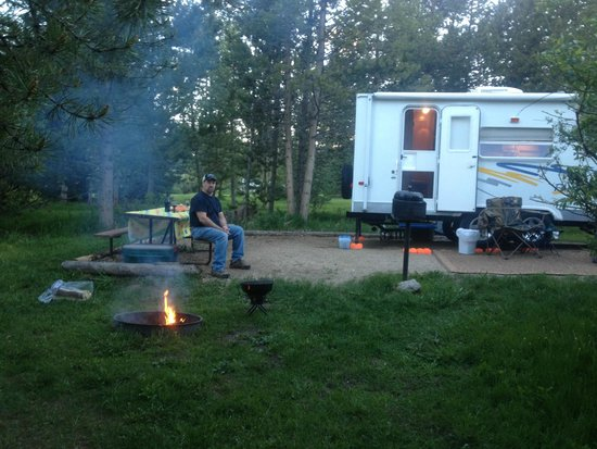 Elk Creek Campground and RV Park: camping site #9