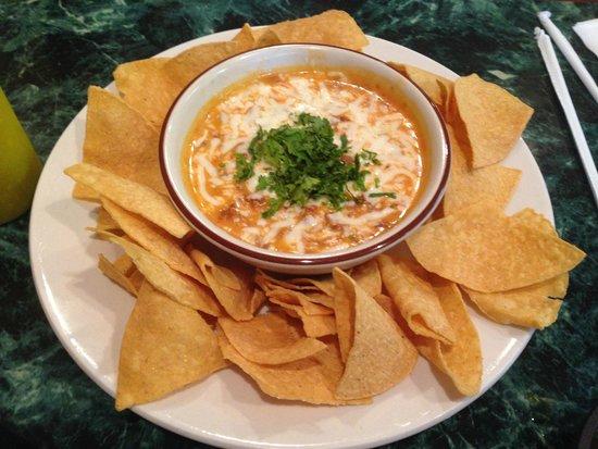San Antonio Mexican Restaurant: Cheese / Chorizo dip