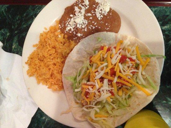 San Antonio Mexican Restaurant: Chicken Taco
