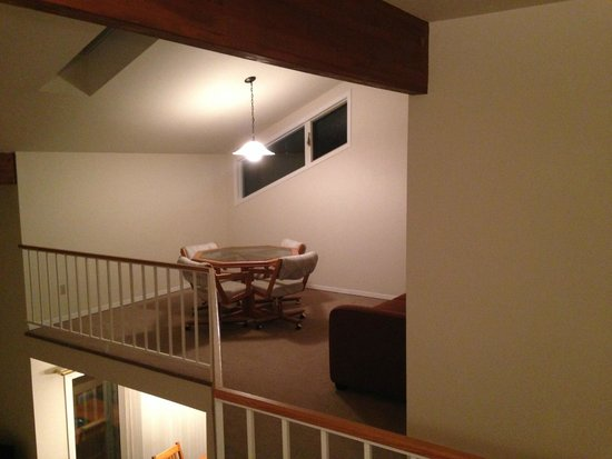 Meadow Lake Resort: loft area w/pullout sofabed