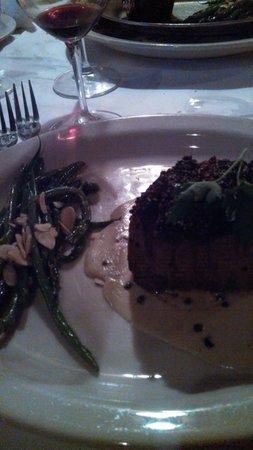 Tornado Steak House: My Filet au Poivre