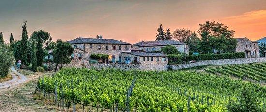Borgo Argenina: Chianti Sunrise over Borgo