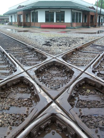 Corinth Civil War Interpretive Center: Railroads crossing