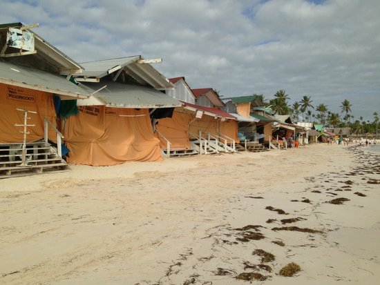 Hotel Riu Palace Punta Cana: Shacks