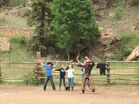 Tumbling River Ranch: Rodeo fun!