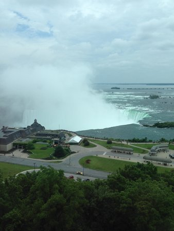Niagara Falls Marriott Fallsview Hotel & Spa : View from our room.........1215