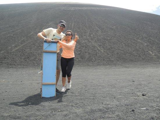 Cerro Negro Volcano: Después de la aventura