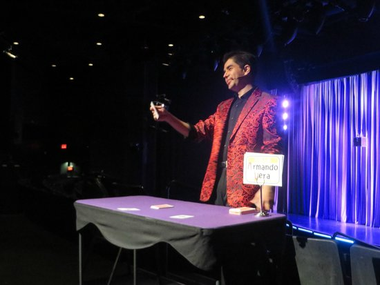 Armando Vera Magic Show: Armando Vera: #7 attraction in Vegas for a reason!!!