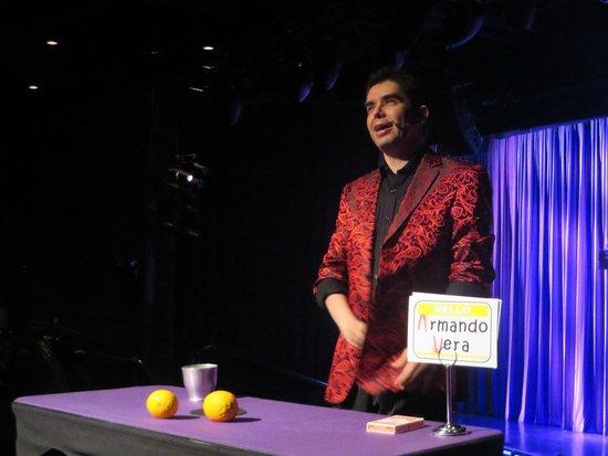 Armando Vera Magic Show: Armando Vera: #7 attraction in Vegas for a reason!!!