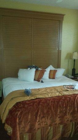 Floridays Resort Orlando: Master bedroom nice