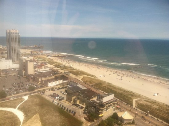 Bally's Atlantic City: View from our room