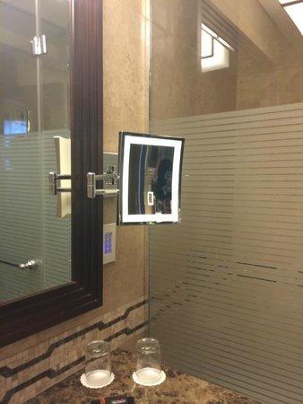 The King David: bathroom