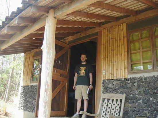 Centro Ecoturistico Flor de Pochote: cabin with a great view