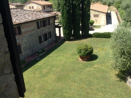 Villa Curina Resort : View from bedroom window