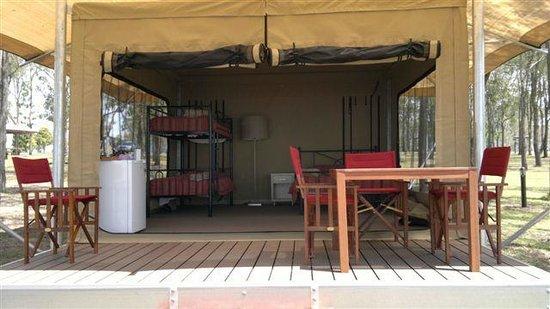 Lake Somerset Holiday Park: Safari Tent Interior