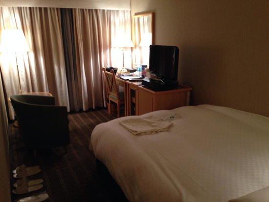 Hotel Nikko Osaka: お部屋の様子