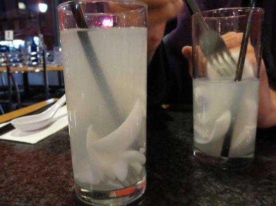 Dickson Asian Noodle House: Coconut Juice is the perfect drink to go with everything