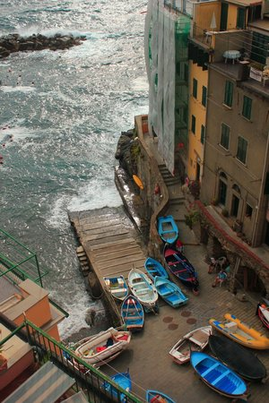 Alla Marina: View from the deck