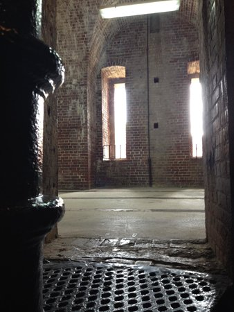 Fort East Martello Museum : Cool inside pic