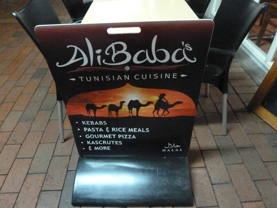 Ali Baba's Tunisian Takeaways: And everything mentioned is superb.