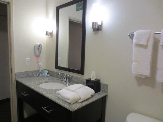 Sleep Inn & Suites: The bathroom