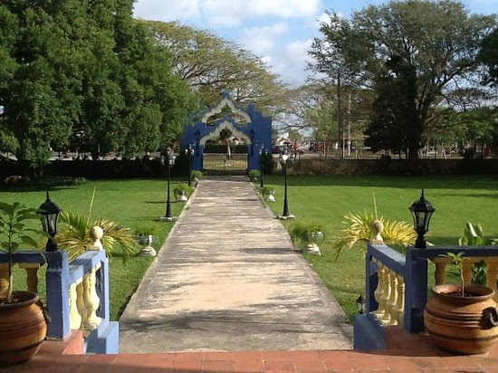 Hacienda San Pedro Nohpat: Front Entrance
