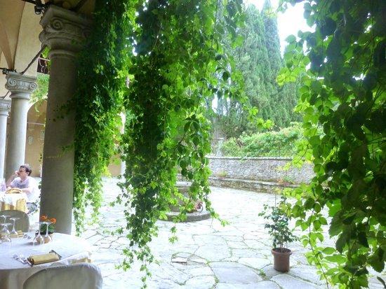 Hotel Villa Casagrande: Restaurant Terrace