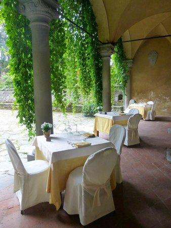 Hotel Villa Casagrande: Outdoor Terrace in the Hotel Restaurant